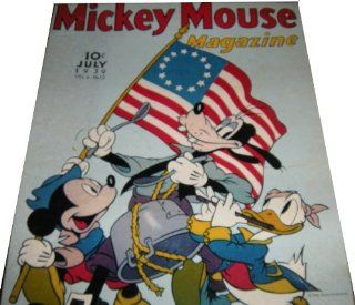 Springbok Puzzle   Walt Disney's Mickey Mouse Magazine July 1939 Cover   Spirit of '76 Over 475 Pieces   PZL4031 Toys & Games