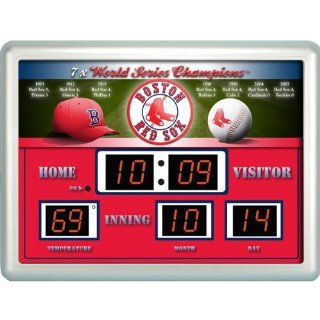 MLB Boston Red Sox Scoreboard  Basketball Scoreboards And Timers  Sports & Outdoors