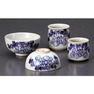 rice bowl kbu482 29  32 722 [Bowl x large x 4.34 x 2.29 inch Smallbowl x 4.14 x 2.17 inch teacup x large x 2.76 x 2.96 inch teacup x small x 2.17 x 2.56 inch] Japanese tabletop kitchen dish Six gourd Mutsumi aligned ( disease free ) Mutsumi aligned [ bowl