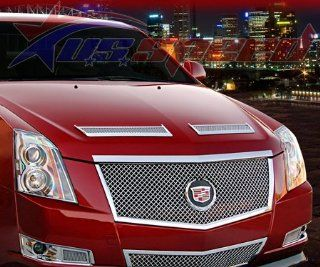 2008 UP Cadillac CTS Chrome Hood Vents 2PC Front Automotive