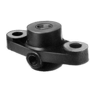 Flange bearing DIN 502 A with red brass bush bore 30mm D10 material grey cast iron