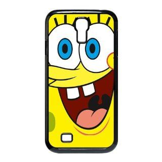 LVCPA Cute Cartoon SpongeBob SquarePants Printed Hard Plastic Case Cover for SamSung Galaxy S4 I9500 (6.28)CPCTP_486_04 Cell Phones & Accessories