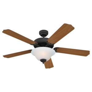 Sea Gull Lighting Quality Max Plus 52 in. Antique Bronze Ceiling Fan 15030BLE 71