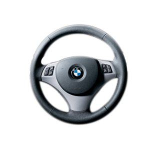 BMW 32 30 0 415 491 3 Series High Gloss Black Steering Wheel Trim  Multi function buttons Automotive