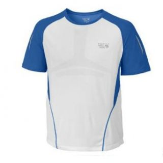 Mountain Hardwear Men's Way2Cool T   Azul XL  Athletic Shirts  Clothing