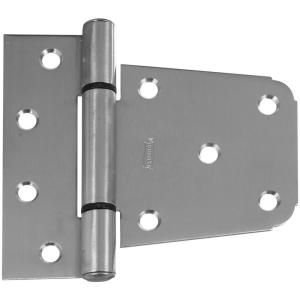 National Hardware 3 1/2 in. Stainless Steel Heavy Duty Gate Hinge V289 3 1/2 GATE HGE SS