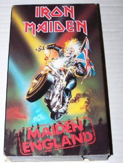 Iron Maiden Maiden England [VHS] Bruce Dickinson, Dave Murray, Adrian Smith, Steve Harris, Nicko McBrain, Iron Maiden, Michael Kenney, Elizabeth Flowers, Martin Haxby Movies & TV