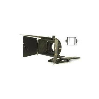 "Cavision 5"" x 5"" Matte Box with Extra Large Hard Shade, Two 5"" x 5"" & One Universal Metal Filter Trays, Rods, Film Plate & Rubber Adapter Ring MBR110  Camera Lens Adapters  Camera & Photo"