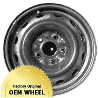 DODGE JOURNEY 16x6.5 12 HOLE Factory Oem Wheel Rim  BLACK STEEL   Remanufactured Automotive