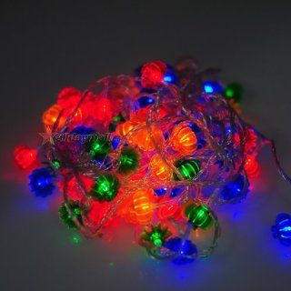 Multi colored LED Lantern String Lights for Christmas   Rope Lights