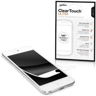 BoxWave Apple iPod Touch (5th Generation) ClearTouch Ultra   Newest Version, 100% Hassle Free, Bubble Free Installation   Installs in seconds   Frame Border, Matte, Anti Fingerprint, Anti Glare Screen Protector for Apple iPod Touch (5th Generation) (White