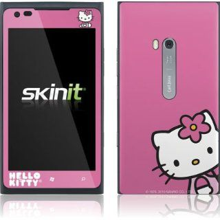 Hello Kitty Sitting Pink   Nokia Lumia 900   Skinit Skin Cell Phones & Accessories