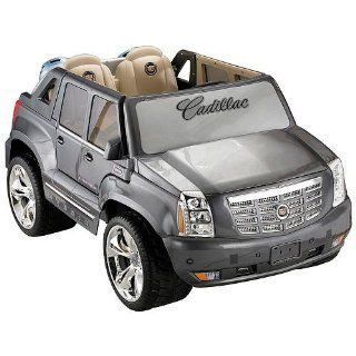 Power Wheels Fisher Price Cadillac Hybrid Escalade   Grey Toys & Games