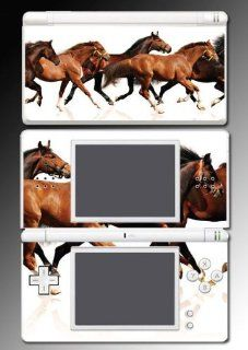 Horse Racing Pony Mare Stallion Colt Gift Video Game Vinyl Decal Skin Protector Cover for Nintendo DS Lite Video Games