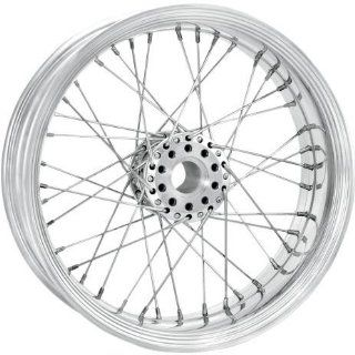 Performance Machine Merc Wire Chrome 23x3.5 Front Wheel , Color Chrome, Position Front, Rim Size 23 12286306RMRCCH Automotive
