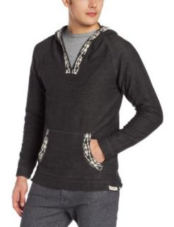 3RD & ARMY Men's Dawson Hooded Pullover, Charcoal, X Large at  Men�s Clothing store