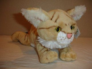 "12"" Sand Cat Plush Stuffed Animal Toy Toys & Games"
