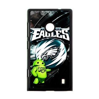 NFL Philadelphia Eagles Team Logo Durable Hard Case Cover for Nokia Lumia 520 Cell Phones & Accessories