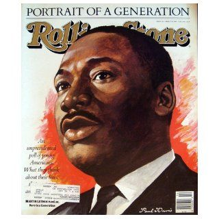 Rolling Stone Magazine April 7, 1988 Issue 523 Martin Luther King Jr. Cover Books