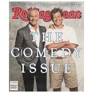 Rolling Stone Magazine Nov. 3, 1988 Issue 538 Johnny Carson David Letterman Cover Books