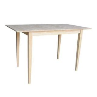 International Concepts Unfinished Counter Height Table K T32X 36S