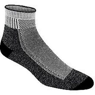 WIGWAM Cool Lite Hiker Pro Quarter Socks   Size Large, Black