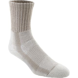 Thorlo Womens Moderate Cushion Light Hiking Crew Socks   Size Medium, Khaki
