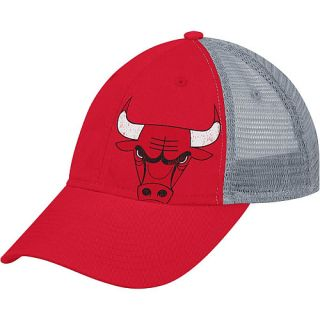 adidas Womens Chicago Bulls Slouch Adjustable Mesh Back Cap, Fashion