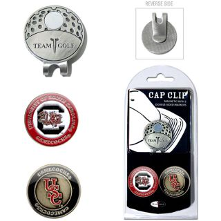 Team Golf University of South Carolina Gamecocks 2 Marker Cap Clip