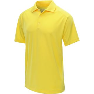 NIKE Mens Tech Jersey Golf Polo   Size Xl, Yellow/white