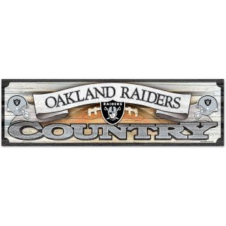 Wincraft Oakland Raiders Country 9x30 Wooden Sign (50616011)