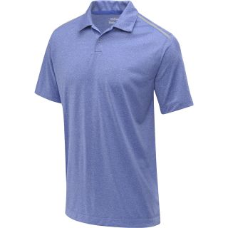 NIKE Mens Lightweight Heather Golf Polo   Size 2xl, Violet/silver