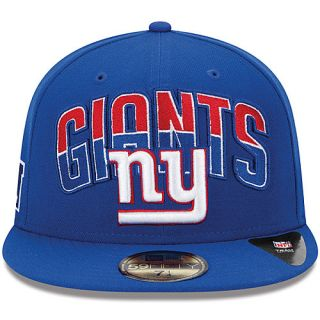 NEW ERA Youth New York Giants Draft 59FIFTY Fitted Cap   Size 6 1/2, Navy