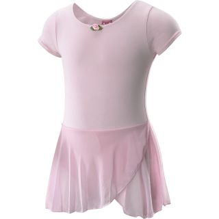 FUTURE STAR Capezio Girls Short Sleeve Dance Dress   Size XS/Extra Small, Pink
