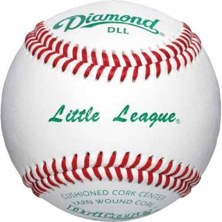 Diamond Sports DLL Tournament Grade Little League Baseball by the Dozen (DLL)