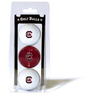 Team Golf University of South Carolina Gamecocks 3 Ball Pack (637556231055)