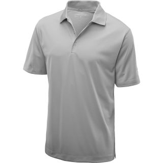 NIKE Mens Stretch Tech Golf Polo   Size Small, Pewter Grey