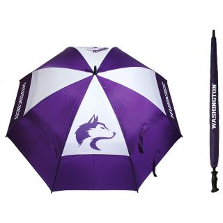 Team Golf University of Washington Huskies Double Canopy Golf Umbrella