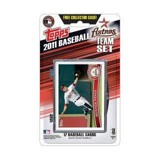 Topps 2011 Houston Astros Official Team Baseball Card Set of 17 Cards in
