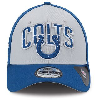 NEW ERA Mens Indianapolis Colts Draft 39THIRTY Stretch Fit Cap   Size M/l,