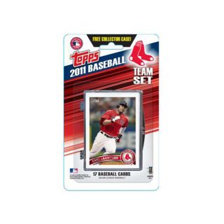 Topps 2011 Boston Red Sox Official Team Baseball Card Set of 17 Cards in