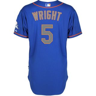 Majestic Athletic New York Mets David Wright Authentic Alternate Road Royal
