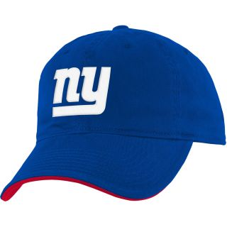 NFL Team Apparel Youth New York Giants Basic Slouch Adjustable Cap   Size Youth