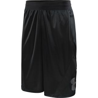 UNDER ARMOUR Mens EZ Mon Knee Basketball Shorts   Size Xl, Pink Pow/black
