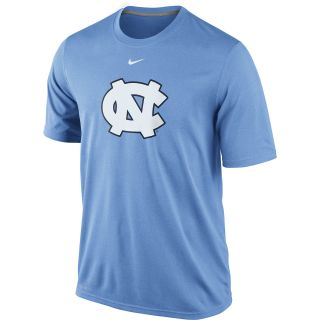NIKE Mens North Carolina Tar Heels Dri FIT Logo Legend Short Sleeve T Shirt