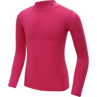NEW BALANCE Girls True Base Solid Long Sleeve Mock Neck Shirt   Size Large,