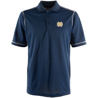 Antigua Notre Dame Fighting Irish Mens Icon Polo   Size 3x Large, Navy/white