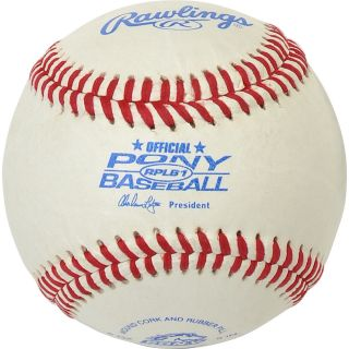 RAWLINGS Youth RPLB1 Pony League Baseball