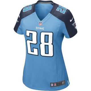 NIKE Womens Tennessee Titans Chris Johnson Game Team Color Jersey   Size