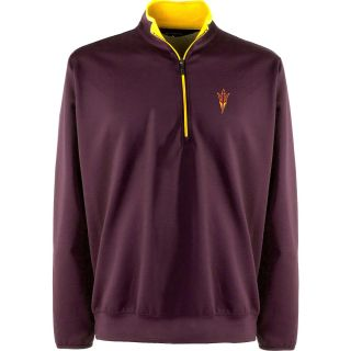 Antigua Mens Arizona State Sun Devils Leader Pullover   Size Large, Sun